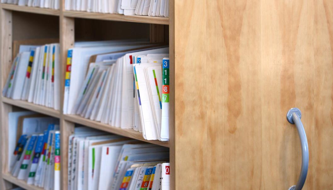 Danskene er et av de folkeferdene i verden som har flest helseopplysninger liggende om seg i registre og databaser. Utviklingen går mot at opplysningene blir flere og mer detaljerte i fremtiden. Nå vil Etisk Råd ha en debatt om hvor grensene skal gå.  (Foto: Microstock)