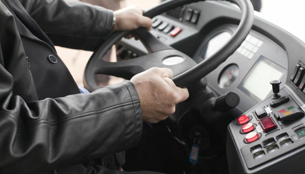 En utsatt posisjon: Bussjåføren møter ofte truende passasjerer. (Illustrasjonsfoto: Microstock)