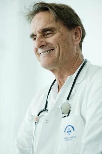 Erik Ekker Solberg, overlege i kardiologi ved Diakonhjemmet sykehus i Oslo. (Foto: Diakonhjemmet sykehus)
