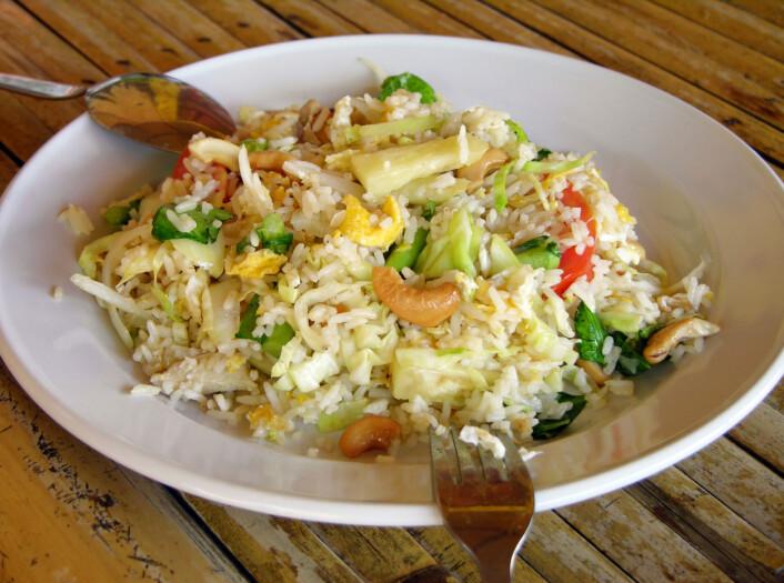Pasta og ris som er kokt og deretter lagret ved romtemperatur, har ført til dødsfall.  (Foto: Colourbox)