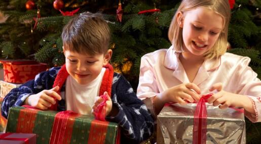 Ikke så lurt å belønne barn med gaver
