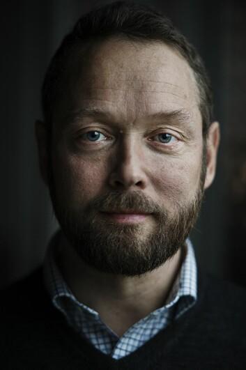Halvor Spetalen, forsker på yrkesfagutdanningen ved Høgskolen i Oslo og Akershus. (Foto: Benjamin A. Ward, HiOA)