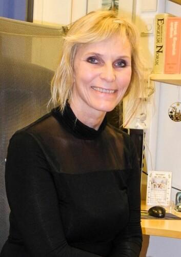 Professor i psykologi, Catharina E. A. Wang. (Foto: Elisabeth Øvreberg)
