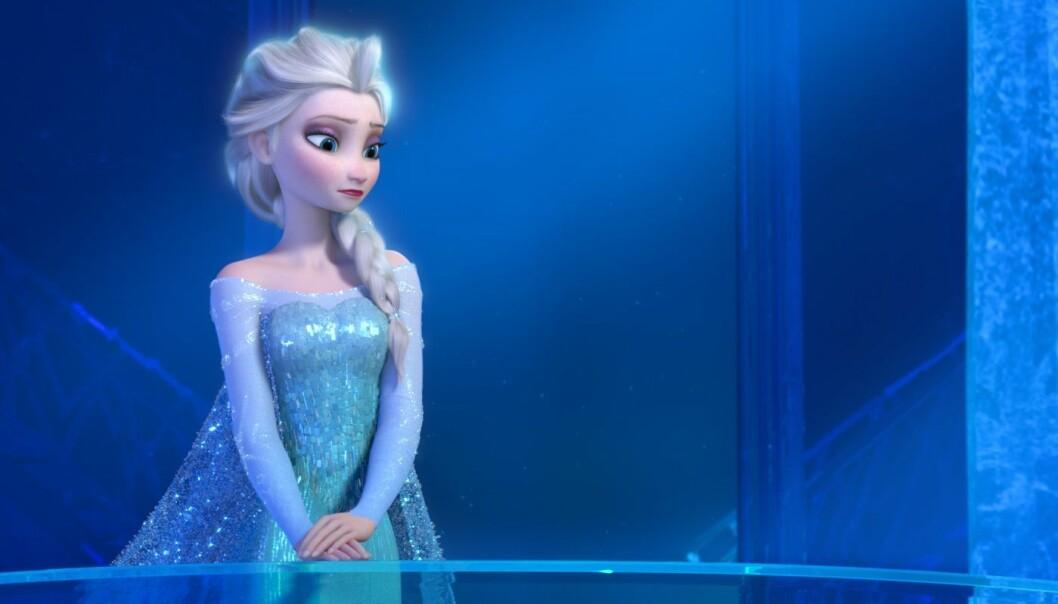 La den gå! No kan Elsa frå filmen Frost i teorien få hyperrealistiske auge. Ville ho utstrålt like mykje sjarm utan store ikoniske Disney-auge tru? (Foto: The Walt Disney Company Nordic)