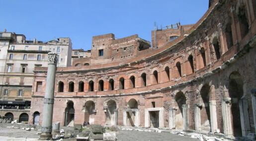 Hvorfor var romersk sement så bra?