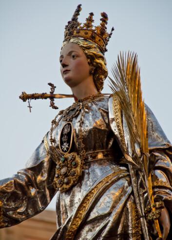 Lucia var en romersk jomfru som ifølge mytene døde fast i sin tro. (Foto: Microstock)