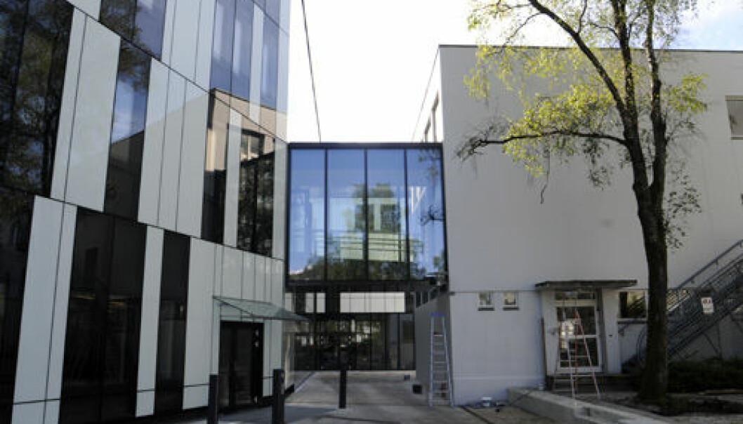 Nybygget på Norges Handelshøyskole.  (Foto: Hallvard Lyssand)