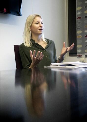 – Skoleresultatene har falt, og det har blitt større forskjeller mellom barn av alenemødre og barn av gifte mødre, sier Katrine Holm Reiso, som likevel ikke vil stemple reformen som mislykket. (Foto: Helge Skodvin)