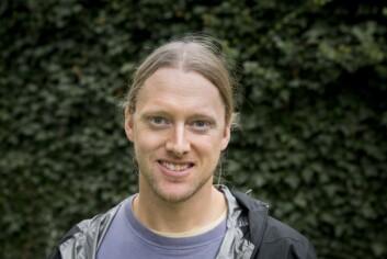 Ronny Steen ved NMBU (Foto: Håkon Sparre, NMBU)