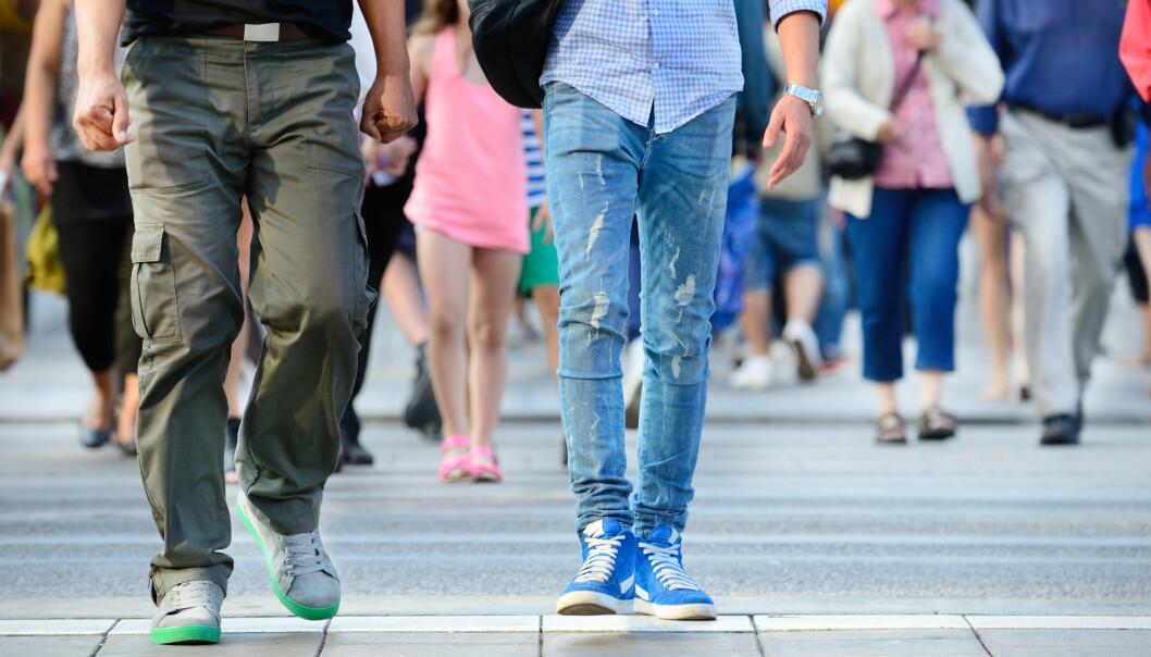 Når du går, avslører du en god del om deg selv som person. Forbipasserende kan for eksempel legge merke til hva slags humør du er i akkurat nå.  (Illustrasjonsfoto: Microstock)