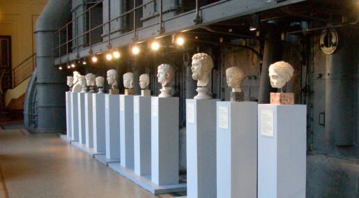 Rommet teller i museer