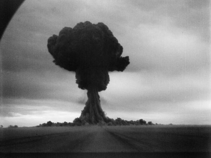 Russlands første atomprøvesprengning, ved Semipalatinsk i 1949. (Foto: Offentlig eiendom)