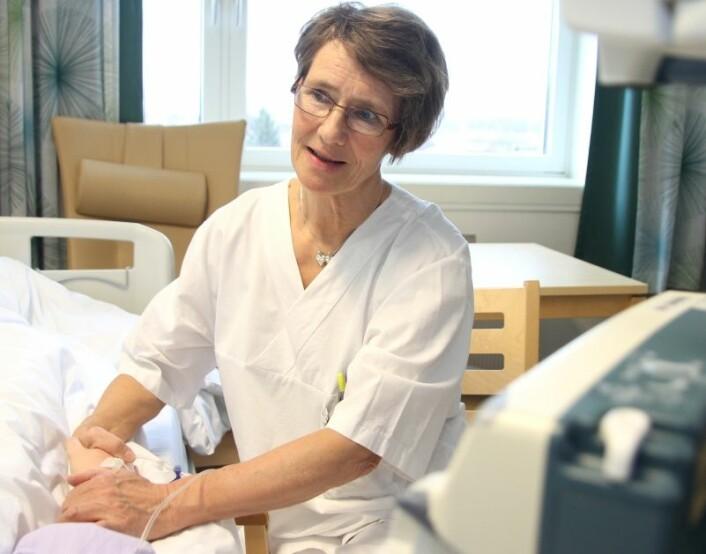 Lindring på St. Olavs Hospital. (Foto: Frode Nikolaisen, St. Olavs Hospital)