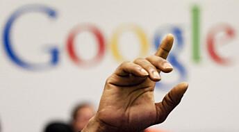 Google sletter deg
