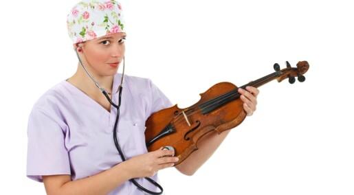 Musikk skal hjelpe barn som blir kvalme av cellegift