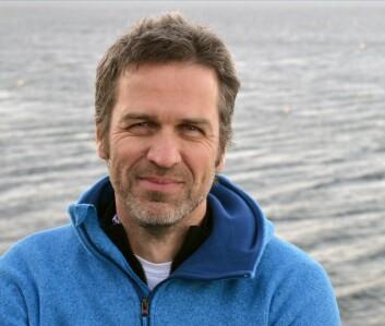 Forsker Jochen Knies ved NGU. (Foto: Gudmund Løvø)