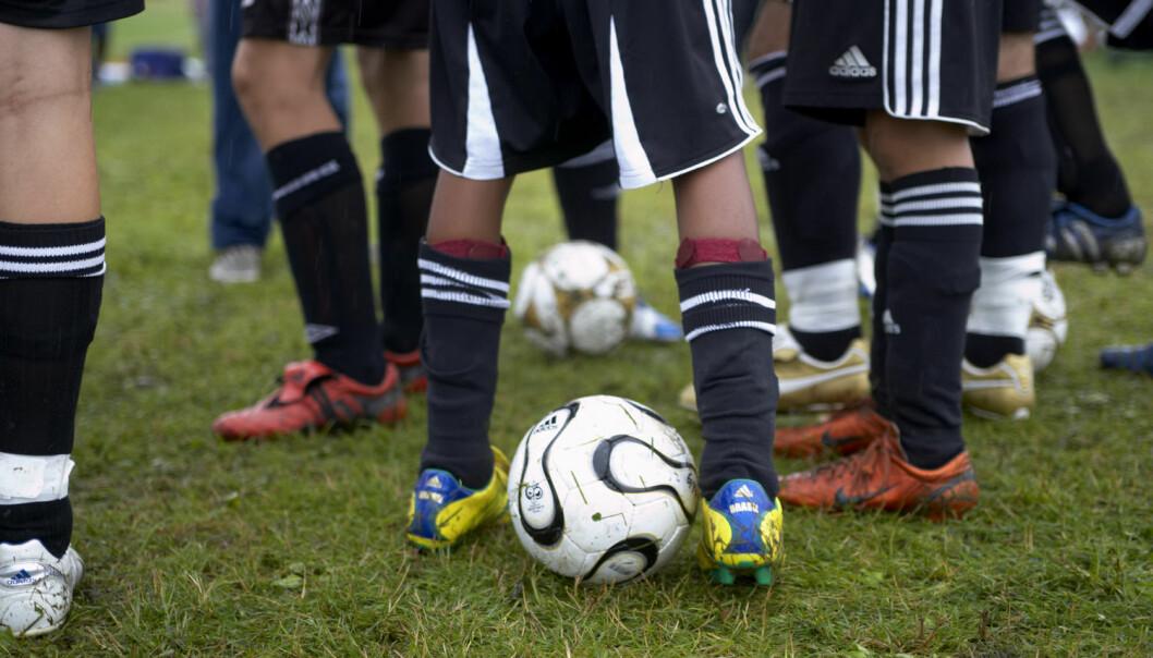 Det er ikke bare størrelsen på fotball-leggene som avgjør hvem som får leve ut barnedrømmen om å bli proff og landslagsspiller. (Illustrasjonsfoto: Berit Roald, NTB Scanpix)