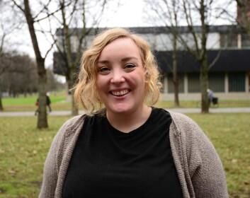 – Vi har ikke en perfekt likestillingsmodell for kvinner i Norge i dag. Å få barn er et hinder for kvinners karriere, ikke for menns, sier forsker Eirin Pedersen.  (Foto: Silje Pileberg)