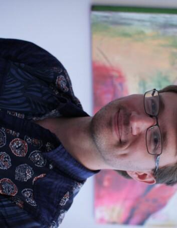 Førsteamanuensis Michaël Tatham ved UiB. (Foto: Solrun Dregelid)