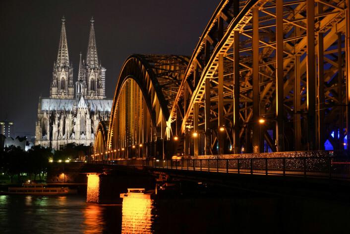 Den tyske delstaten Nordrhein-Westfalen, her representert ved Köln, har 17 millioner innbyggere og skårer 6,1 på innflytelsesskalaen i EU. (Foto: NTB Scanpix)