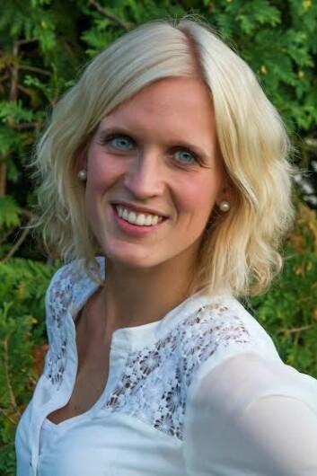 Elise W. Dees er optiker og har doktograd i synsvitenskap. (Foto: privat)