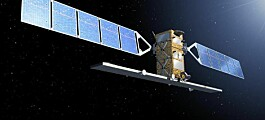 Satellitt-jubel på overtid