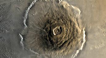 Ikke flytende vann på Mars uten vulkaner