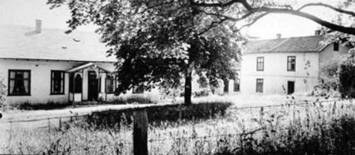 Tandem sanatorium, opprettet i 1888, behandlet både alkoholikere og morfinavhengige.  (Arkivfoto: Digitalt museum/Domkirkeoddens fotoarkiv)