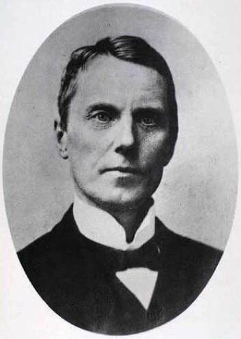 Knud Pontoppidan (1853 - 1916) var en dansk psykiater, som allerede på slutten av 1880-tallet advarte mot avhengighet av morfin.  (Arkivfoto: Det Kongelige Bibliotek, København/Wikimedia)