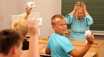 Barn med ADHD trenger bråk for å lære