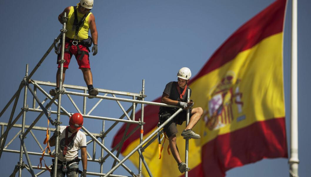 Ser ingen fremtid i Spania