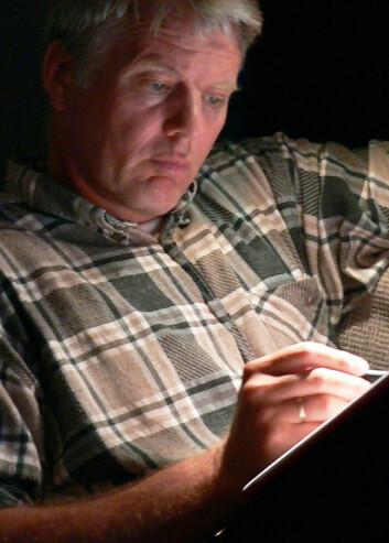 Professor Joar Vittersø bruker mye tid på å gruble. Det mener han kan gi økt livskvalitet. (Foto: Privat)