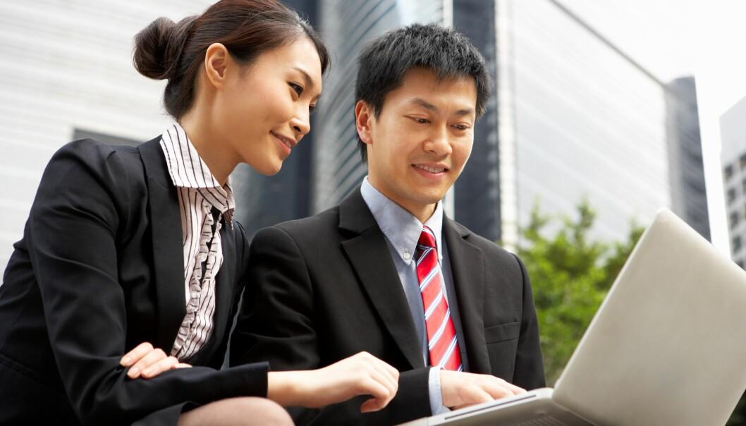 Kinesere tar gjerne etter hverandre når de jobber. Hvorfor finne opp noe som andre har gjort før deg? (Foto: Colourbox)
