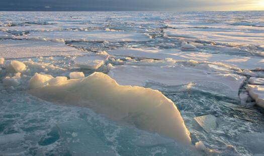 På isen i Nansenbassenget