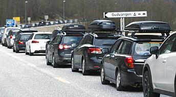 Transport står for 30 prosent av norske klimagassutslipp