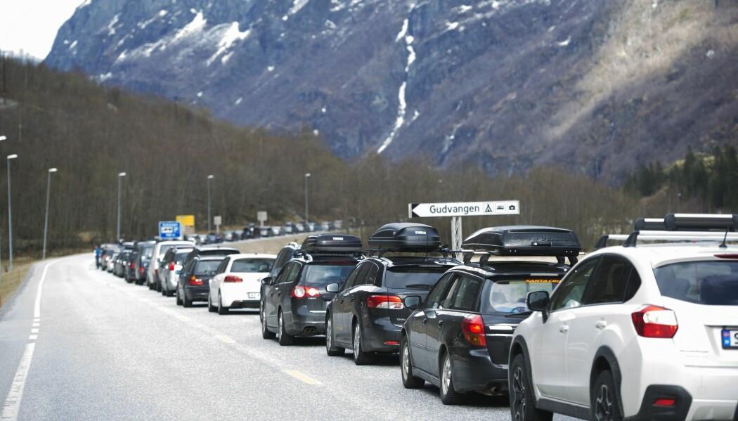 Innen 2030 skal Norge redusere klimagassutslippene innen transport med 35 til 40 prosent sammenlignet med 2005, ifølge regjeringens klimamelding fra 2017.  (Foto: Marit Hommedal, NTB scanpix)