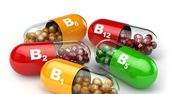 B-vitamin kan føre til hoftebrudd