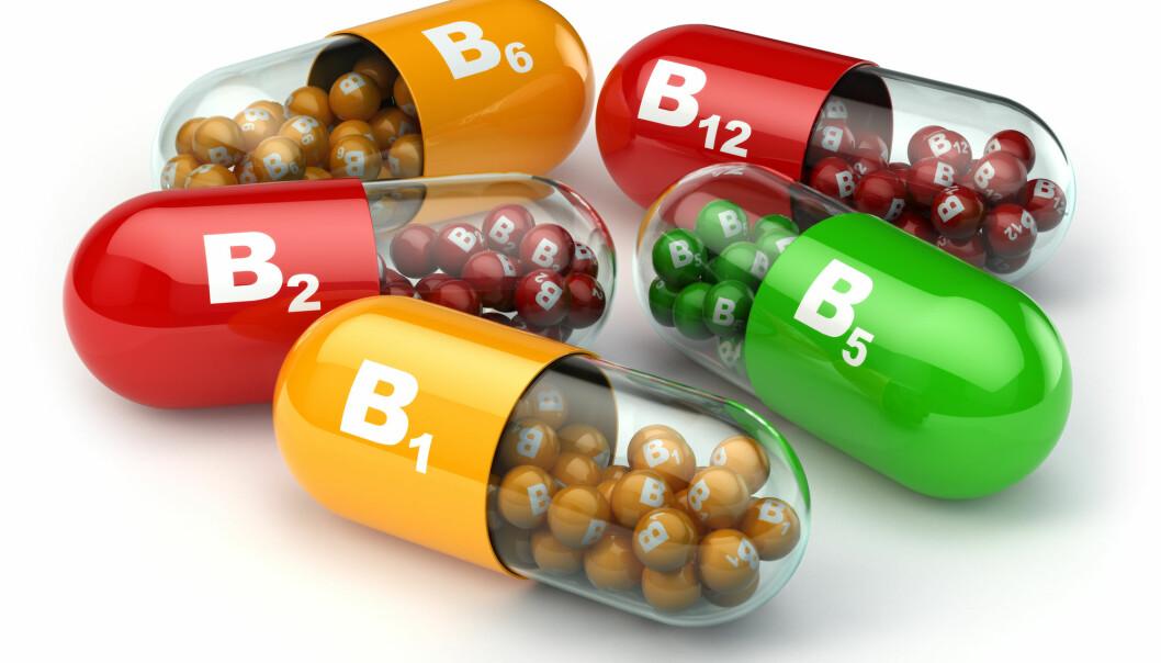 Høye doser av vitamin B6 og B12 i kombinasjon kan gi økt fare for hoftebrudd, ifølge en ny studie. (Illustrasjon: Maxx-Studio / Shutterstock / NTB scanpix)