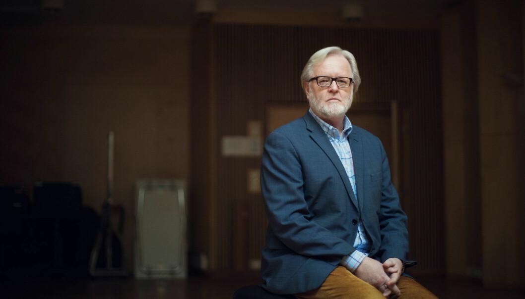 Øivind Varkøy er professor i musikkpedagogikk ved Norges musikkhøgskole. (Foto: Kyrre Lien)