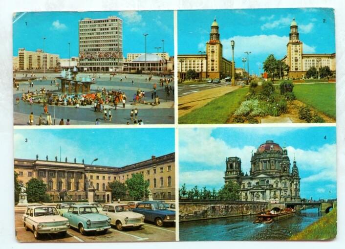 DDR-postkort fra 1972. (Foto: Colourbox)