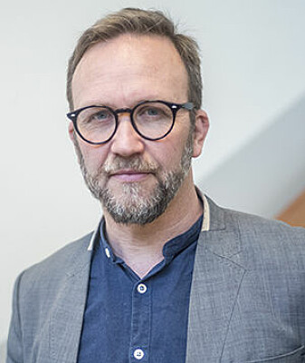 Professor Marius Timmann Mjaaland er filosof og teolog. (Foto: Alexander Tufte Wetherilt)
