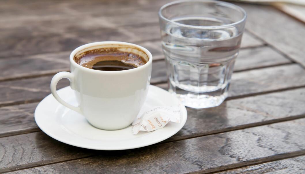 PFAS-stoffer tilføres kroppen gjennom vann og mat og gjenfinnes blant annet i blodet. (Illustrasjon: MiMaLeFi / Shutterstock / NTB scanpix)
