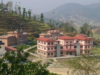 Kathmandu University – en naturlig partner til NGHI. (Foto: privat)