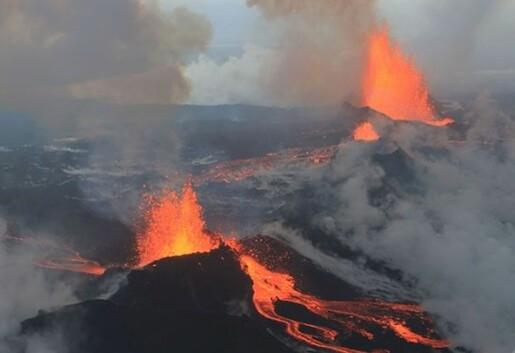 Bárðarbunga-Nornahraun-utbruddet på Island gir god innsikt i magmatransport i riftsonene
