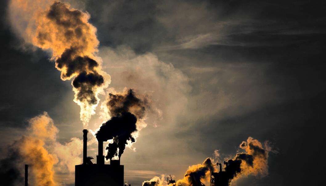 Helt siden 70-tallet har vi målt nivået av drivhusgasser i atmosfæren. (Foto: Microstock)
