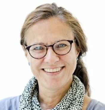 Gynekolog og forsker Lina Herstad, ved Oslo Universitetssykehus.  (Foto: Ram Gupta/Oslo Universitetssykehus)