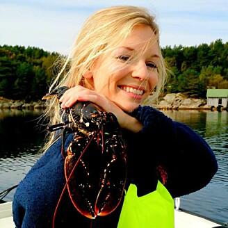 Tonje Knutsen Sørdalen har dokumentert at store hummere er viktige for bestanden, og det førte til maksimalmål og sterkere vern. (Foto: Kim Halvorsen, Havforskningsinstituttet)