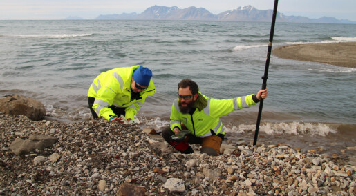 Forskere fant ukjent grav på Svalbard