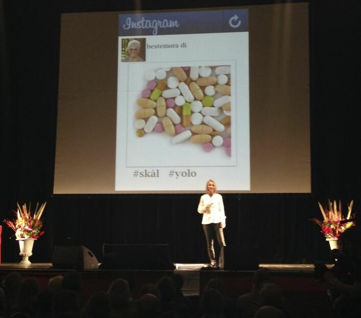 Pia, Forsker Grand Prix 2013. (Foto: Privat)