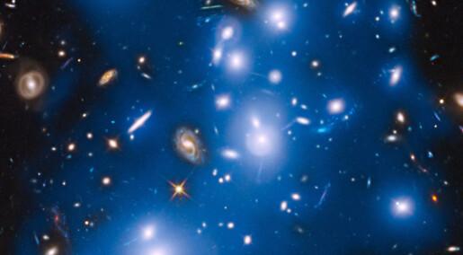 Ensomme stjerner kastet ut etter galaksekollisjoner
